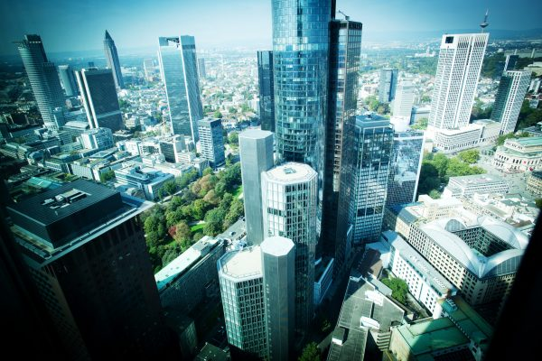 Frankfurt office cityscape